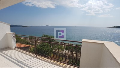 Large seafront semi-detached house